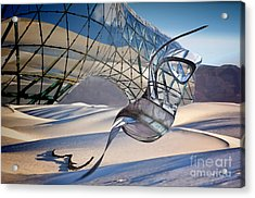 Sand Incarnations With Dali Acrylic Print