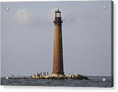 Sand Island Lighthouse - Once 40 Acres Acrylic Print