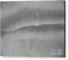 Sand Lips Acrylic Print