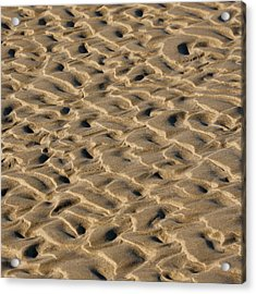 Sand Patterns Acrylic Print by Art Block Collections