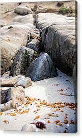 Sand Pyramids Acrylic Print by Peter Tellone