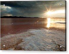 Sand Salt And Sunshine Acrylic Print by Darryl Wilkinson