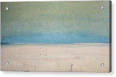 Sand Swept Acrylic Print