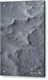Sand Swirls Acrylic Print