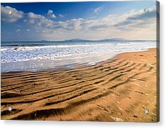 Sand Waves Acrylic Print by Evgeni Dinev