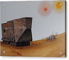 Sandcrawler Acrylic Print