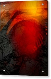 Sandhill Crane Dance 2 Acrylic Print