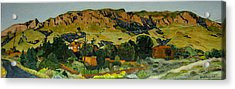 Sandia Heights Acrylic Print