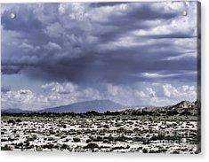 Sandia Rain Acrylic Print