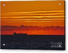 Sandown Sunrise Acrylic Print