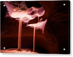 Sands Of Time - Antelope Canyon Acrylic Print