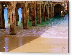 Sands Of Time Acrylic Print by Karen Wiles