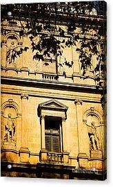 Sandstone Architecture - Characteristic Of Sydney Australia Acrylic Print
