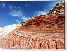 Sandstone Formations Acrylic Print