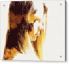 Etched Sandstone Acrylic Print by Jodie Marie Anne Richardson Traugott          aka jm-ART