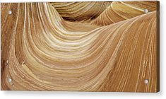 Sandstone Lines Acrylic Print by Chad Dutson