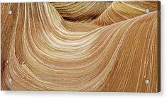 Sandstone Lines Acrylic Print