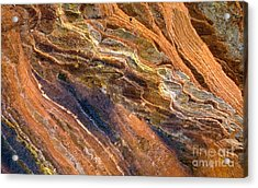 Sandstone Tapestry Acrylic Print by Mike  Dawson