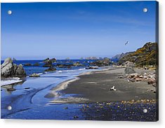 Sandy Beach On The North Coast Acrylic Print