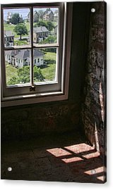 Acrylic Print featuring the photograph Sandy Hook View From The Lighthouse by Gary Slawsky
