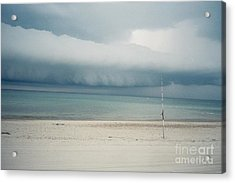 Sandy Neck Beach Sandwich Acrylic Print by Lisa  Marie Germaine