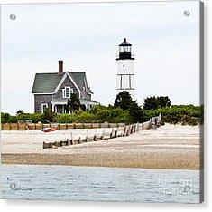 Sandy Neck Lighthouse Cape Cod Acrylic Print