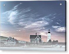 Sandy Neck Lighthouse Acrylic Print by Susan Candelario