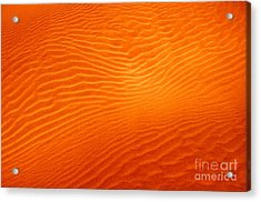 Sandy Sunset Acrylic Print