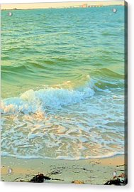 Acrylic Print featuring the photograph Sanibel At Sunset by Janette Boyd