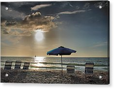Sanibel Ease II Acrylic Print by Steven Ainsworth