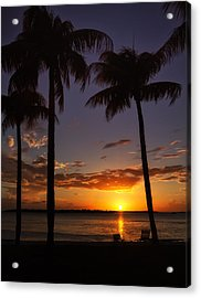 Sanibel Island Sunset Acrylic Print