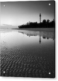 Sanibel Lighthouse And Beach II Acrylic Print