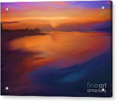 Sanibel Sunrise Acrylic Print by Jeff Breiman