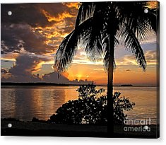 Sanibel Sunset Acrylic Print