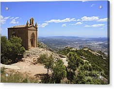 Sant Joan Chapel Spain Acrylic Print