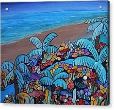 Santa Barbara Beach Acrylic Print