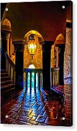 Santa Barbara Courthouse Glow Acrylic Print