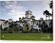 Santa Barbara Acrylic Print by David Millenheft