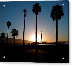 Santa Barbara Sunrise Acrylic Print by Colleen Renshaw