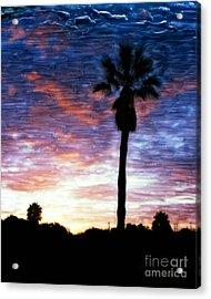 Santa Barbara Sunrise Acrylic Print