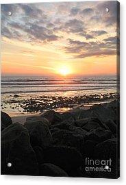 Santa Barbara Sunset Acrylic Print by Stu Shepherd