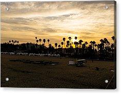 Santa Barbara Sunset Acrylic Print