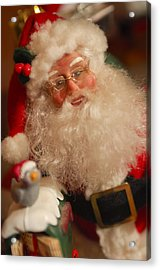 Santa Claus - Antique Ornament - 11 Acrylic Print by Jill Reger
