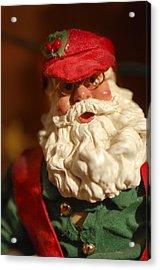 Santa Claus - Antique Ornament - 16 Acrylic Print by Jill Reger