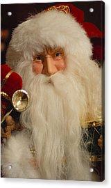 Santa Claus - Antique Ornament - 17 Acrylic Print by Jill Reger