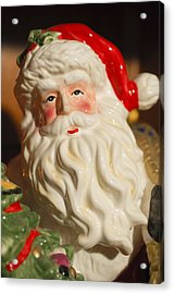 Santa Claus - Antique Ornament - 19 Acrylic Print by Jill Reger