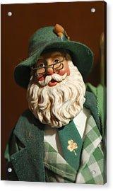 Santa Claus - Antique Ornament - 23 Acrylic Print by Jill Reger