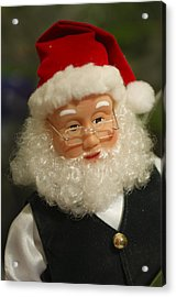 Santa Claus - Antique Ornament - 30 Acrylic Print by Jill Reger
