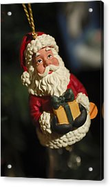 Santa Claus - Antique Ornament - 31 Acrylic Print by Jill Reger