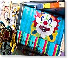 Santa Cruz Boardwalk Carousel Acrylic Print